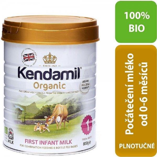 Kendamil BIO Organické kojenecké mléko počáteční 1 800g Bílá