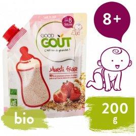 Good Gout BIO Dětská jahodová instantní kaše 200 g