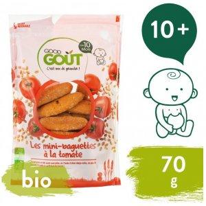 Good Gout BIO Mini bagetky s rajčaty 70 g