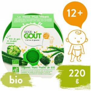 Good Gout AKCE BIO večeře – Brokolice, Cuketa a zelené fazolky s tarhoňou 220 g
