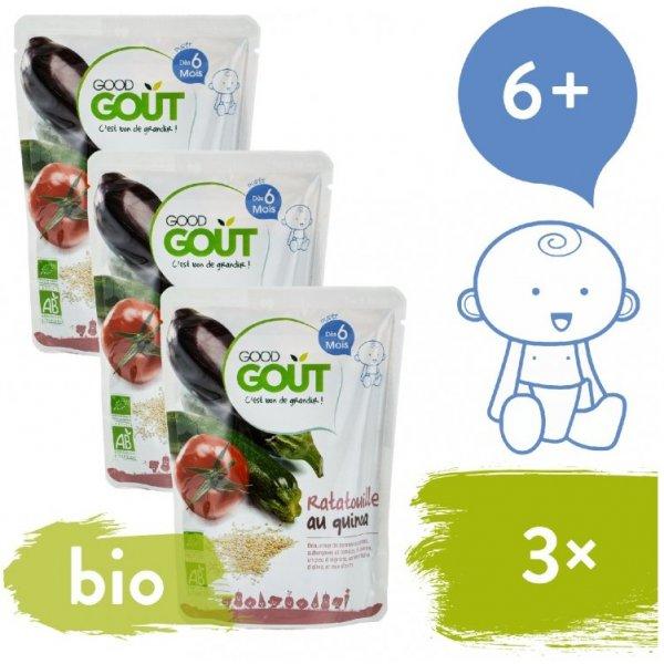 Good Gout 3x BIO Ratatouille s quinoou 190 g