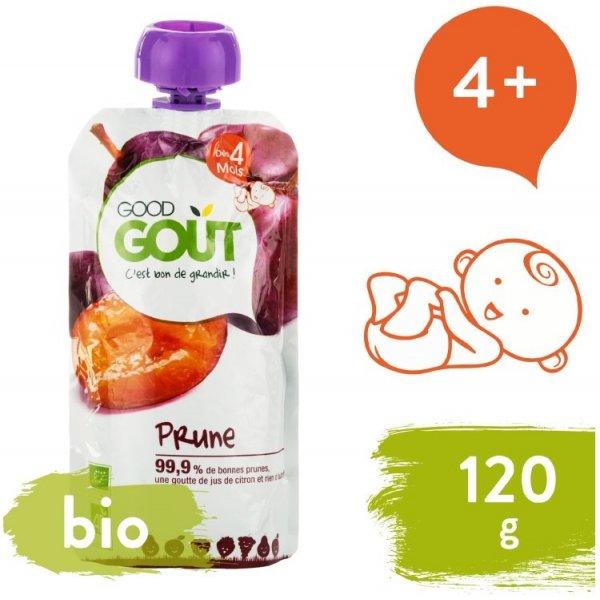 Good Gout BIO Švestka 120 g