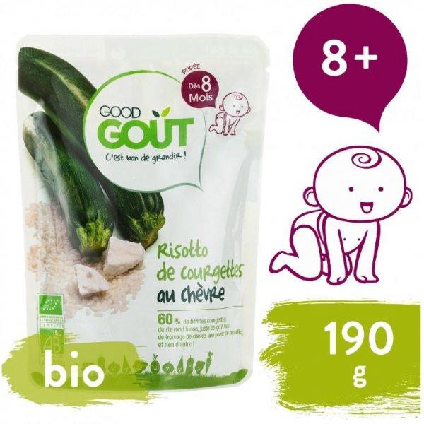 Good Gout BIO Cuketové rizoto s kozím sýrem 190 g