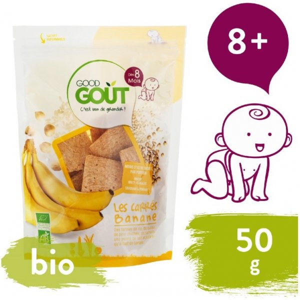 Good Gout BIO Banánové polštářky 50 g