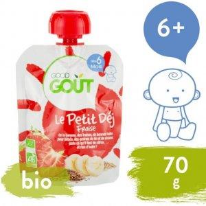 Good Gout BIO Jahodová snídaně 70 g