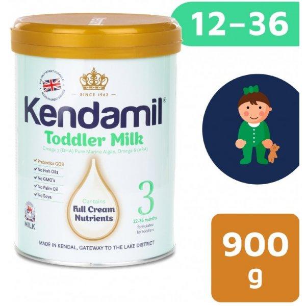 Kendamil Batolecí mléko 3 900 g DHA+ Bílá