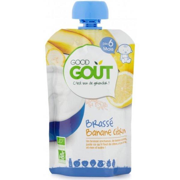 Good Gout BIO Banánový jogurt s citrónem 90 g