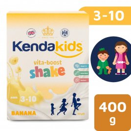 Kendakids Banánový instantní nápoj pro děti (400 g)