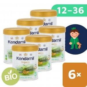 Kendamil 6x BIO/organické plnotučné batolecí mléko 3 (800 g) DHA+