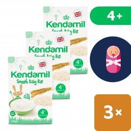 Kendamil 3x Jemná dětská rýžová kaše (100 g)