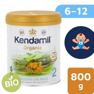 Kendamil BIO/organické plnotučné pokračovací mléko 2 (800 g) DHA+