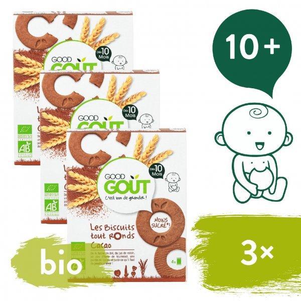 Good Gout 3x BIO Kakaová kolečka 80 g