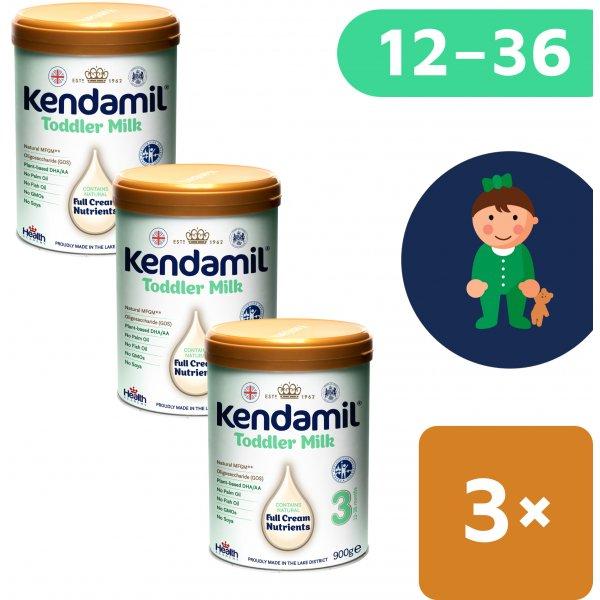 Kendamil 3x batolecí mléko 3 (900 g) DHA+
