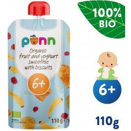 Salvest Põnn BIO Ovocné smoothie s jogurtem a sušenkami (110 g)