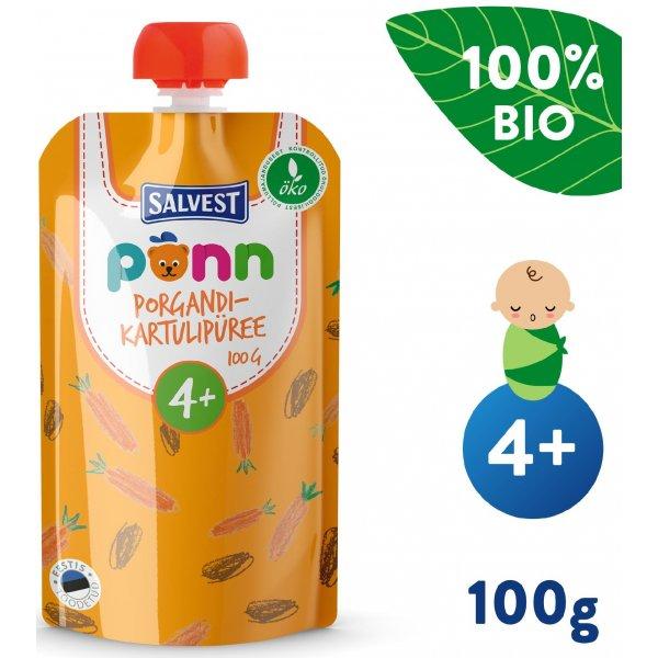 Salvest Põnn AKCE BIO Pyré z mrkve a brambor (100 g)