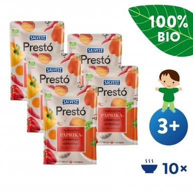 Salvest Prestó 5x BIO Polévka z čerstvých paprik, bylinek a koření (600 g)
