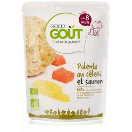 Good Gout BIO Celerová polenta s lososem (190 g)