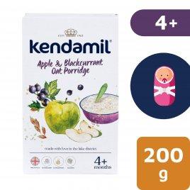 Kendamil Jemná dětská kaše s jablkem a černým rybízem (200 g)