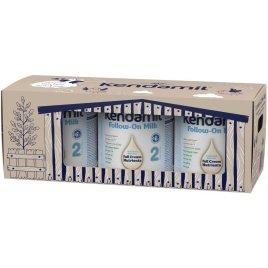 Kendamil pokračovací mléko 2 DHA+ (3× 900 g), pohádkové balení s dárkem a farmou