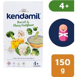 Kendamil 6x Jemná bezlepková kaše s brokolicí, květákem a sýrem (150 g)